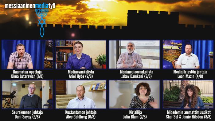 Messiaaninen mediatyö Israelissa -sarja TV7:ssä